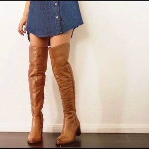 Joplin over the knee boots for Anthropologie
